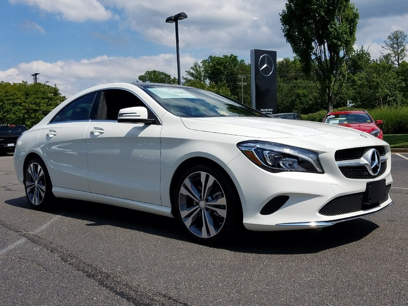 new 2018 mercedes benz cla cla 250 coupe in midlothian 16362 mercedes benz of midlothian. Black Bedroom Furniture Sets. Home Design Ideas